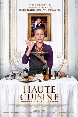 """Poster art for """"Haute Cuisine."""""""