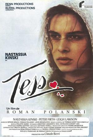 """Poster art for """"Tess."""""""