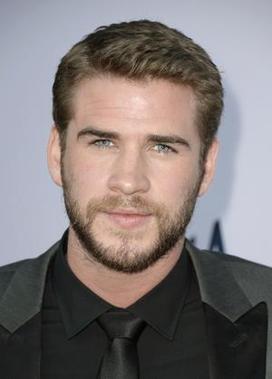 "Liam Hemsworth at the California premiere of ""Paranoia."""
