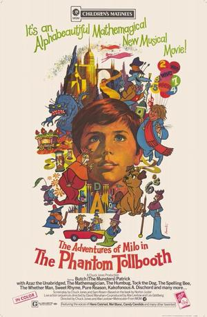"Poster art for ""The Phantom Tollbooth."""