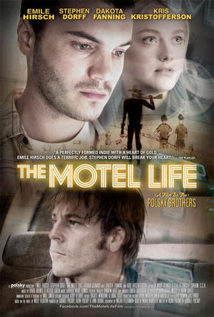 "Poster art for ""The Motel Life."""