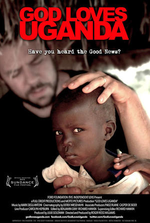 "Poster art for ""God Loves Uganda."""