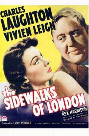 """Poster art for """"St. Martin's Lane."""""""
