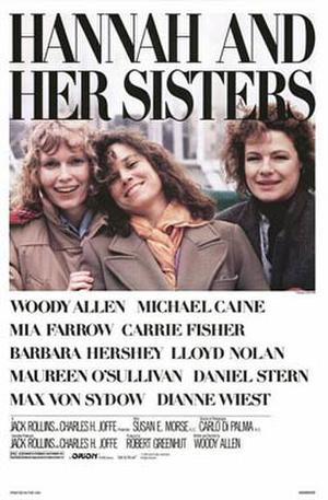 "Poster art for ""Hannah and Her Sisters."""