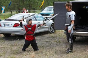 "A scene from ""Knights of Badassdom."""