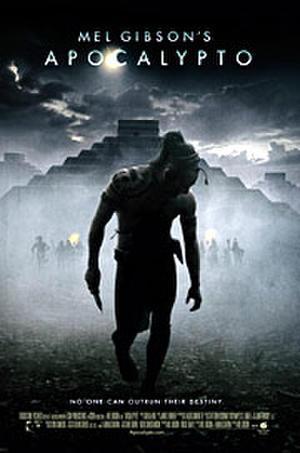 "Poster art for ""Apocalypto."""