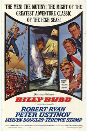 "Poster art for ""Billy Budd"""