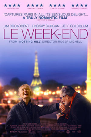 """Poster art for """"Le Week-End."""""""