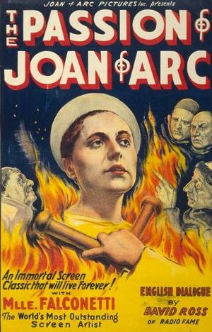 """Poster art for """"The Passion of Joan of Arc."""""""