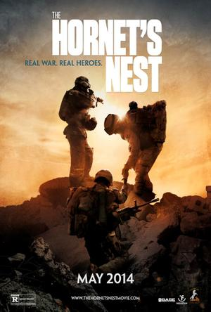 "Poster art for ""The Hornet's Nest."""