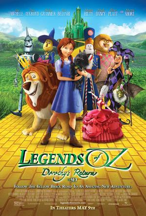 "Poster art for ""Legends of Oz: Dorothy's Return 3D."""