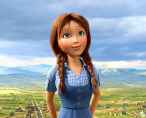 "A scene from ""Legends of Oz: Dorothy's Return."""