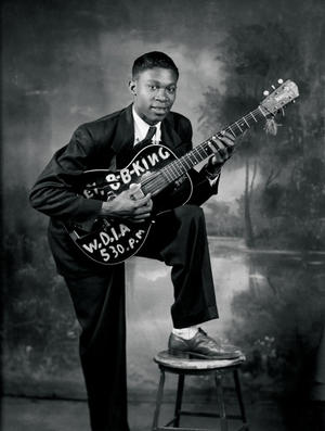 A young B.B King