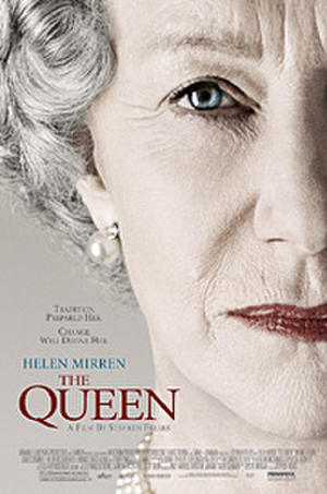 """Poster art for """"The Queen."""""""