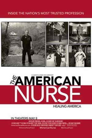 "Poster art for ""The American Nurse."""