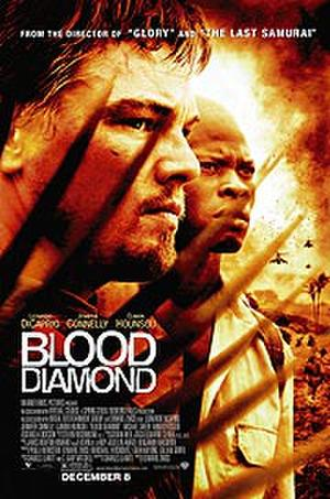 """Poster art for """"Blood Diamond."""""""