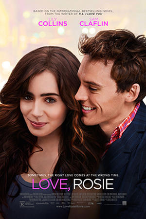 "Poster art for ""Love, Rosie."""