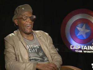 Exclusive: Captain America: The Winter Soldier - Fandango's Nick Fury Eye Test
