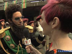 Exclusive: The Dictator - World Premiere in London