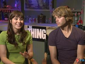 Exclusive: The Thing - Cast Interviews