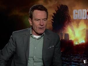 Exclusive: Why Does Bryan Cranston Hate Godzilla?!