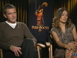Exclusive: Puss In Boots - Cast Interviews