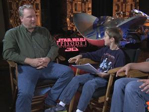 Exclusive: Star Wars: The Phantom Menace 3D - The Fandango Interviews