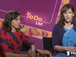Exclusive: The To Do List - The Fandango Interview