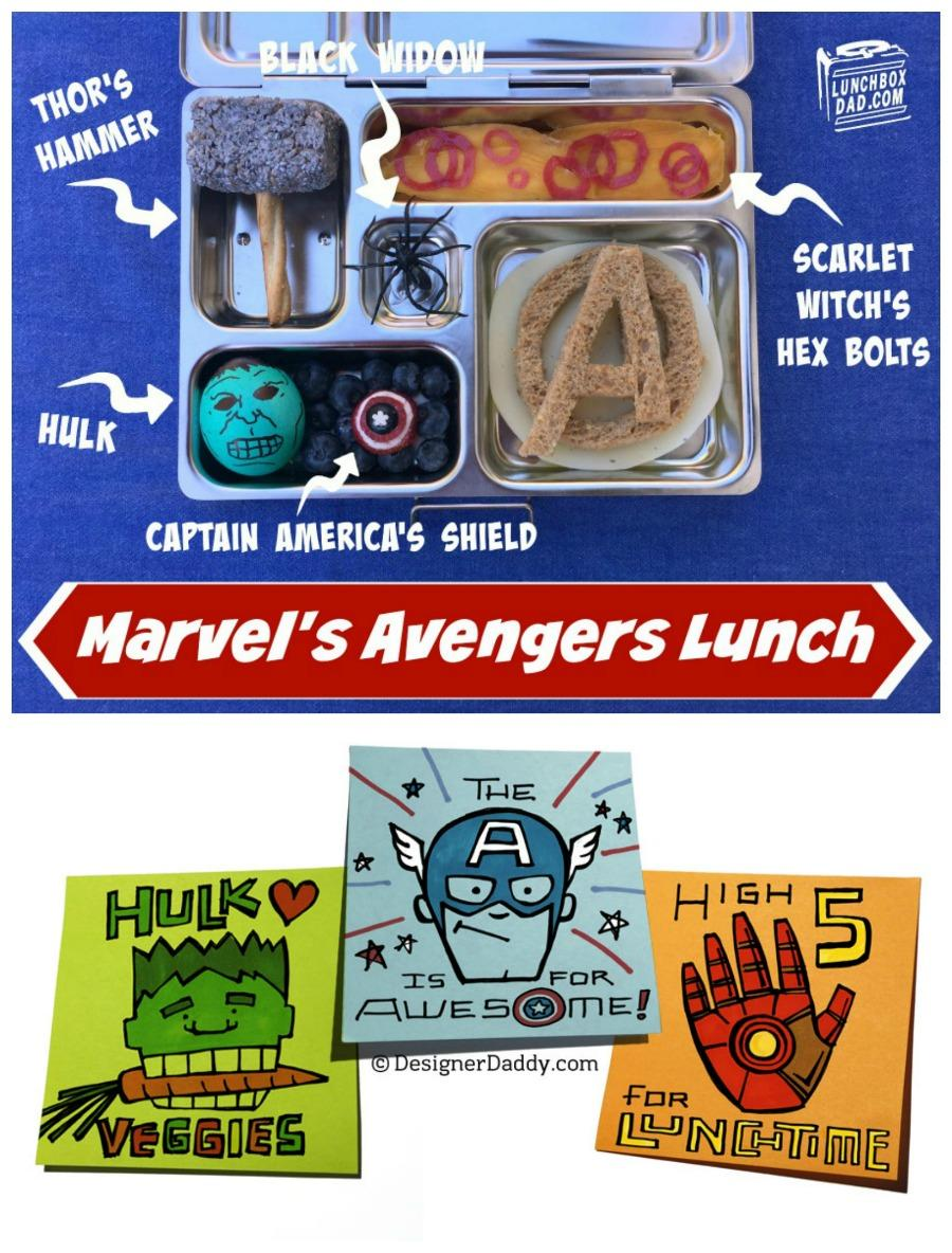 Hero Sandwich: Have Lunch with the Avengers