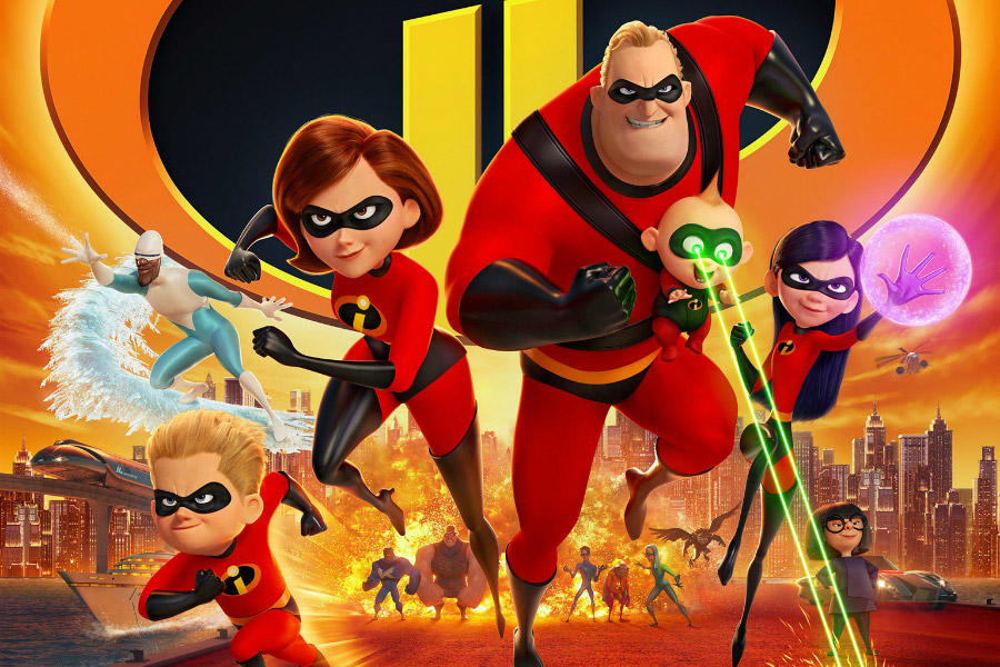 Check Out New 'Incredibles 2' Activity Sheets