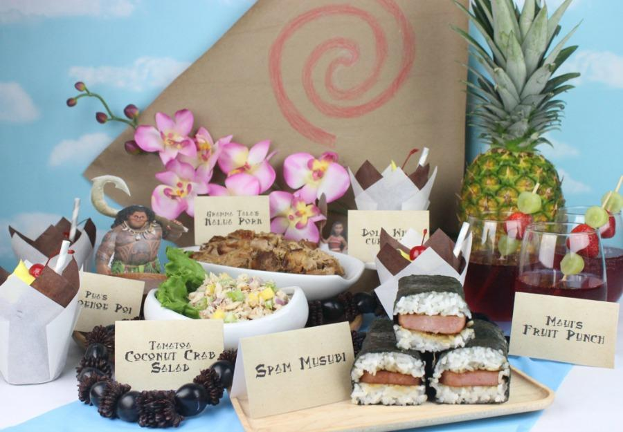 Host a 'Moana' Feast Fit for the Whole Family