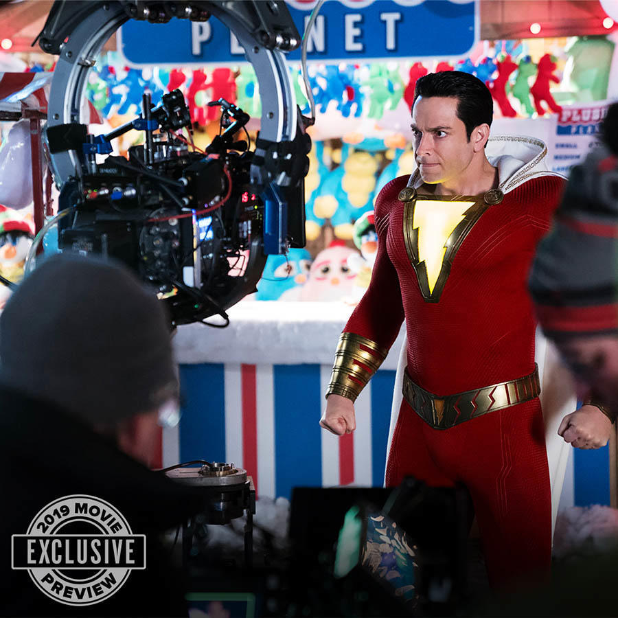 New 'Shazam!' Trailer Electrifies; Here's Everything We Know