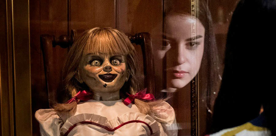 Frightening Exclusive 'Annabelle Comes Home' Clip: Beacon for Other Spirits