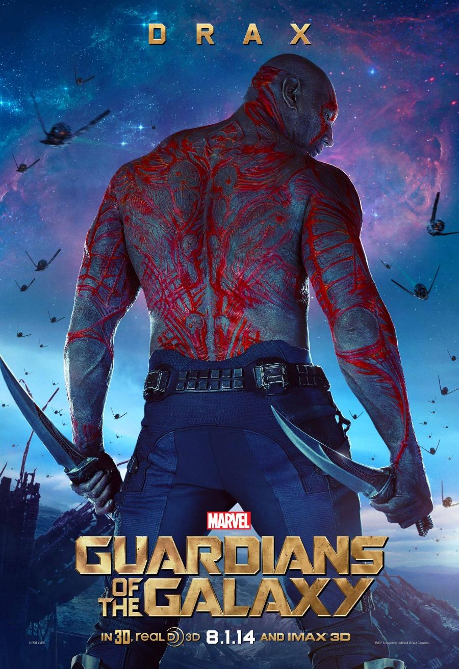 'Guardians of the Galaxy' Exclusive Character Poster: Drax