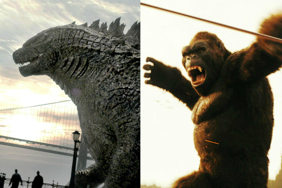 'Godzilla vs. Kong' Nabs Director of 'You're Next' and 'Blair Witch'