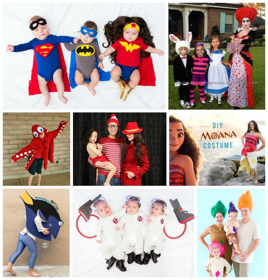25+ Halloween Costume Ideas for Families