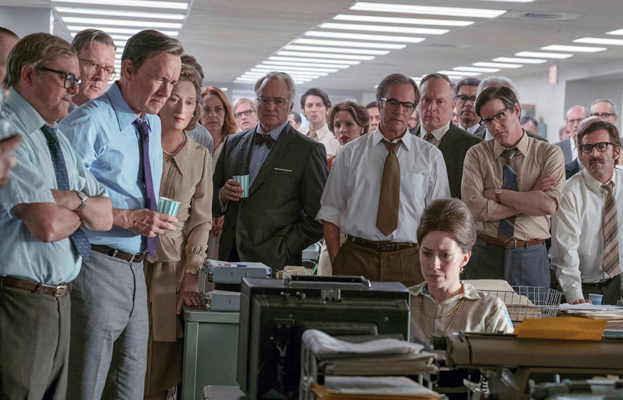 Movie News: 'The Post' Named Best Movie of the Year