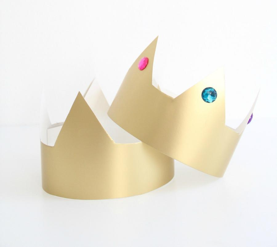 Be a Prince or Princess for a Day with These DIY Crowns