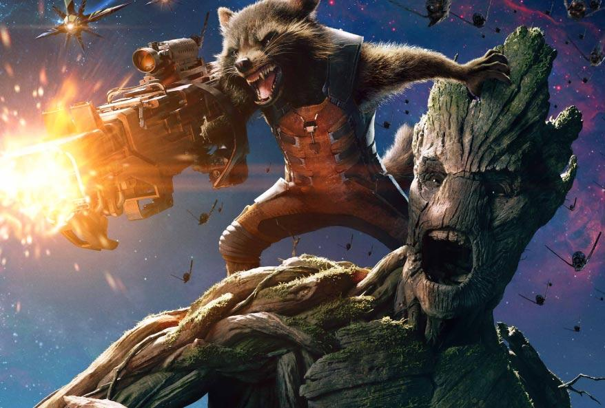 'Guardians of the Galaxy' Exclusive Character Poster: Groot and Rocket Raccoon