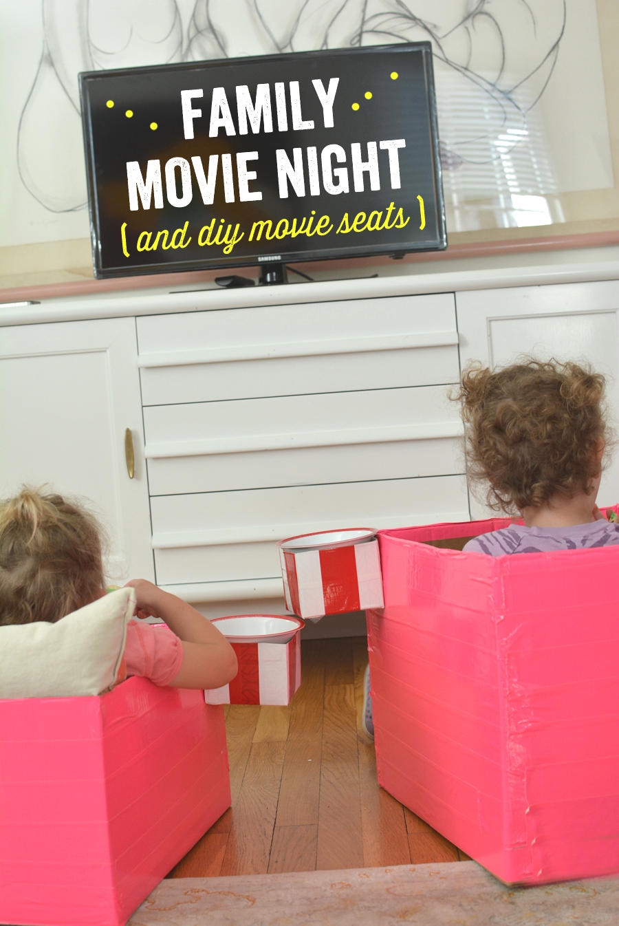 Reserved Seating: Have a DIY Family Movie Night