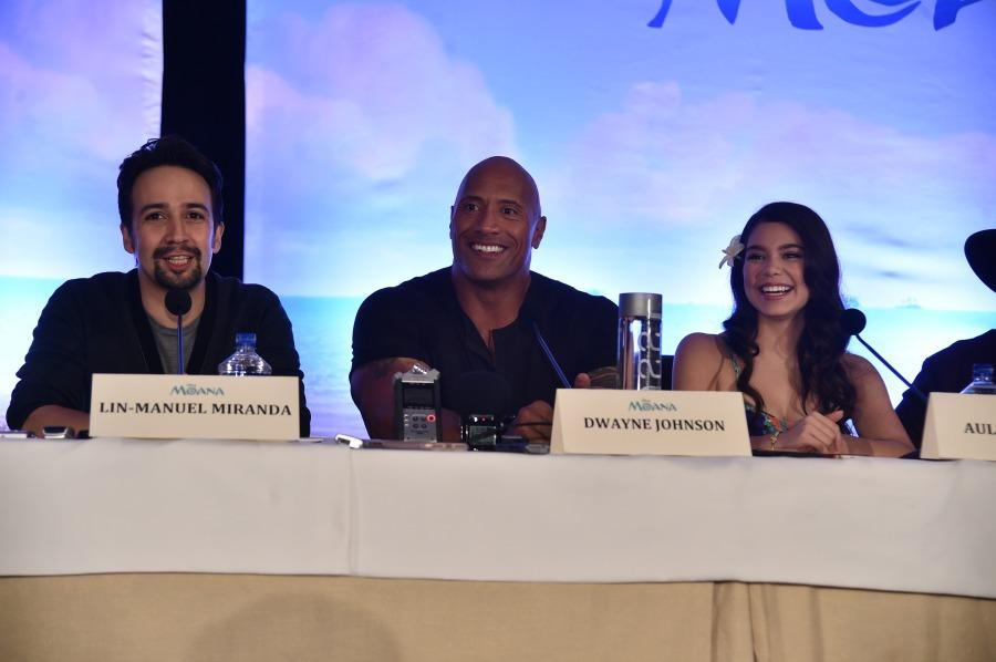 Filmmakers, Stars Embrace the Spirit of 'Moana'
