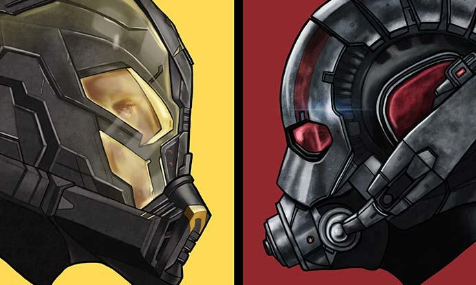 EXCLUSIVE ARTWORK: Ant-Man vs. Yellowjacket