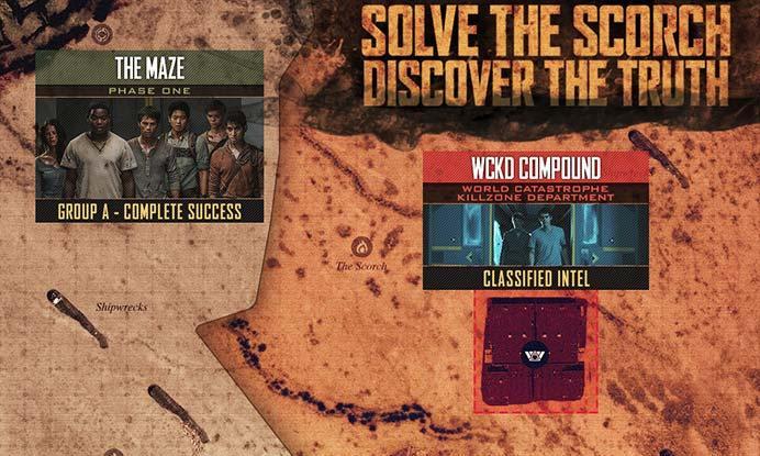 INFOGRAPHIC: 'Maze Runner: The Scorch Trials' Map | Fandango