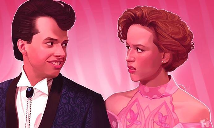 EXCLUSIVE: 'Pretty in Pink' 30th Anniversary Artwork