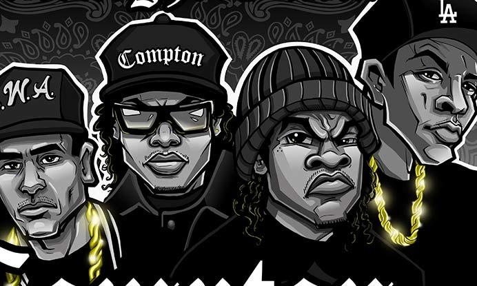 Exclusive: 'Straight Outta Compton' Movie Posters