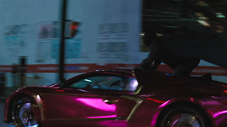 Suicide Squad Purple Lamborghini Auto Bild Ideen