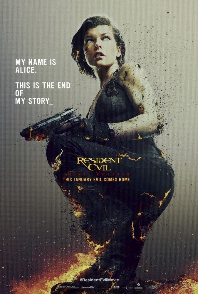 Resident Evil The Final Chapter Fandango