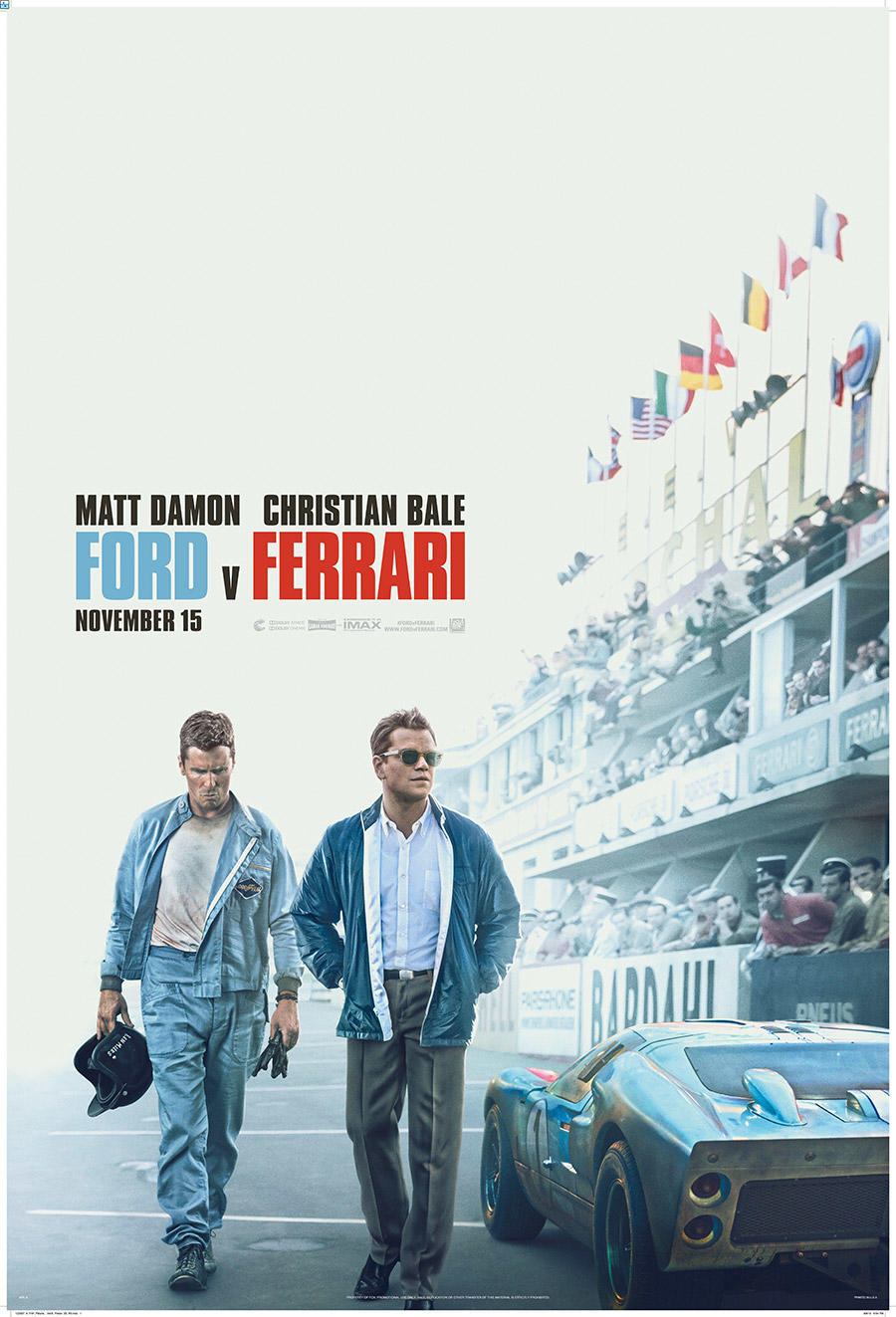 Image result for f9ord v ferrari movie poster