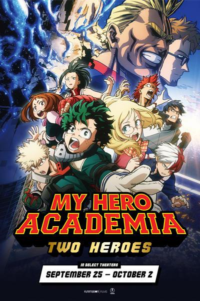 My Hero Academia Two Heroes Fandango