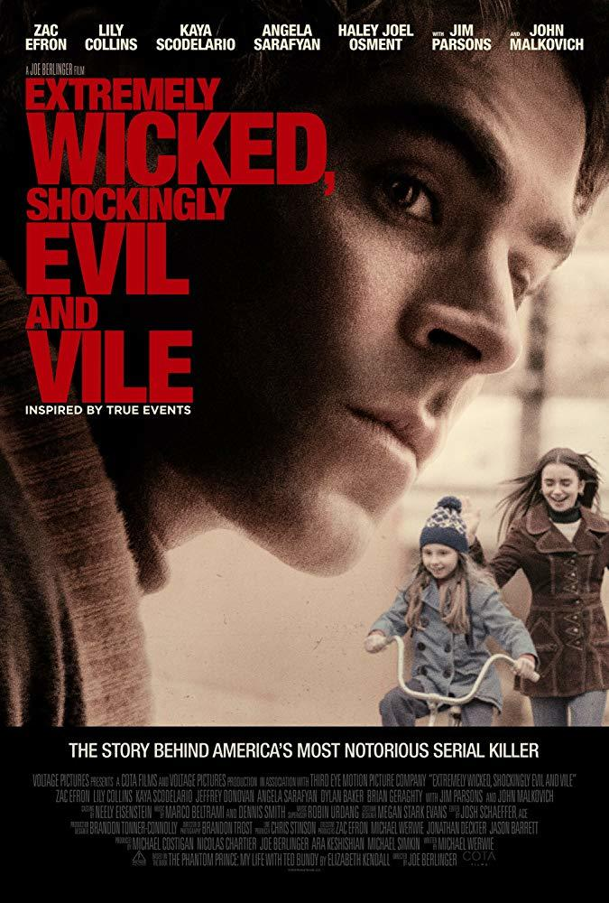 where can i watch extremely wicked shockingly evil and vile